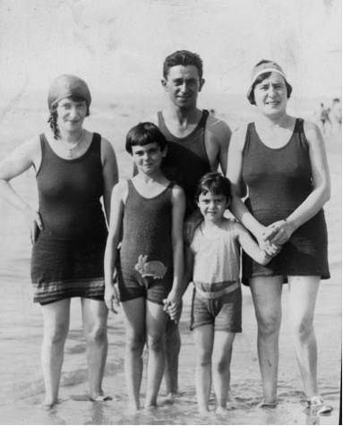 At-the-beach-c1931