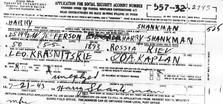 Shankman Skolnick Family Melamed Family History